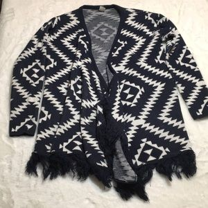 Anthropologie Birdcage tag sweater size medium